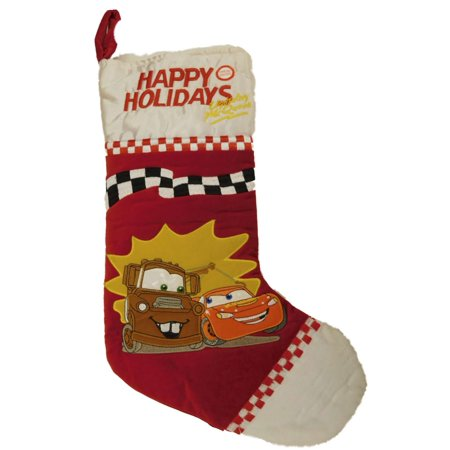Disney Cars Christmas Decorations.Musical Disney Cars Christmas Stocking Lightning Mcqueen Tow Mater