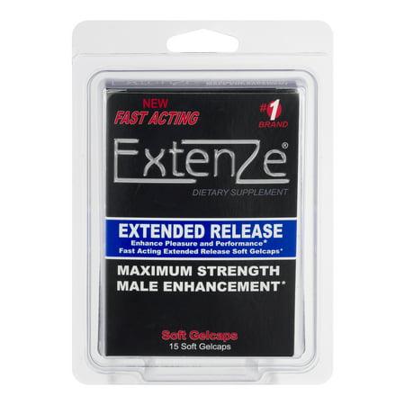 Extenze Maximum Strength Male Enhancement 15 Ct Walmart