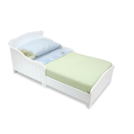 KidKraft Nantucket Toddler Bed, White - Walmart.com