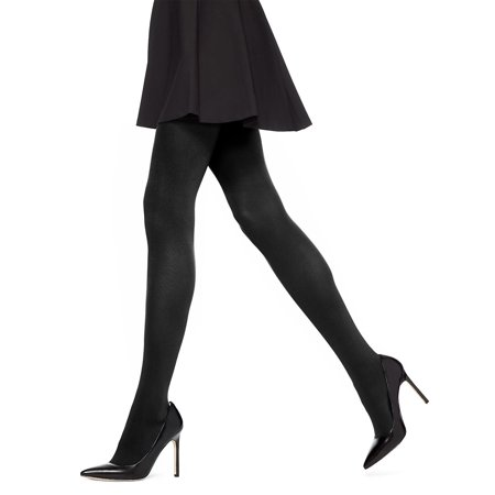 Dkny Control Top Opaque Tights - Absolute Opaque Tights