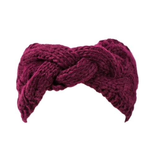 Womens Cable Knit Headband
