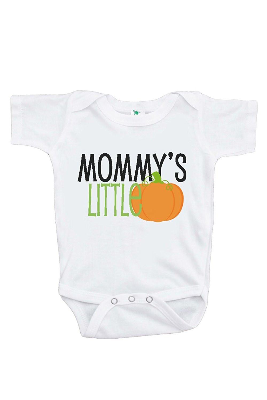 Custom Party Shop Baby's Mommy's Little Pumpkin Halloween Onepiece - 3-6 Month Onepiece