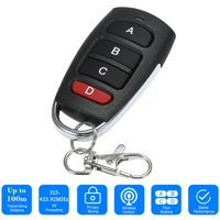 Universal Car Alarm Garage Door Remot Controller Gate Opener Duplicator Clone Code Scanner Alarm for Garage Gate Door Remote Control Key