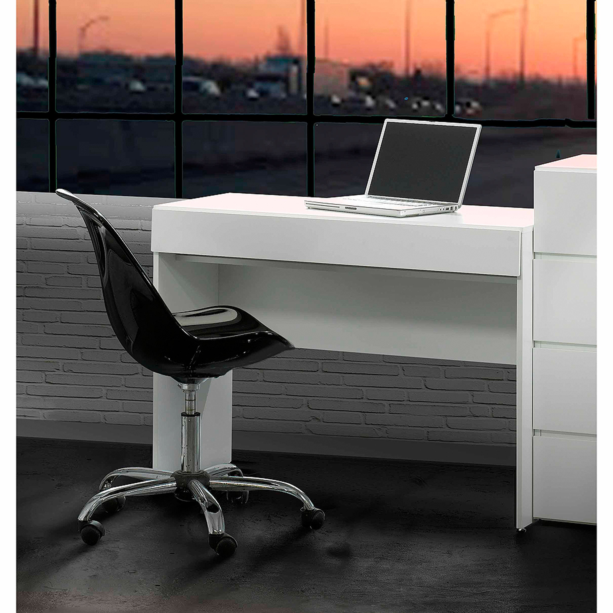 Nexera BLVD Desk, White