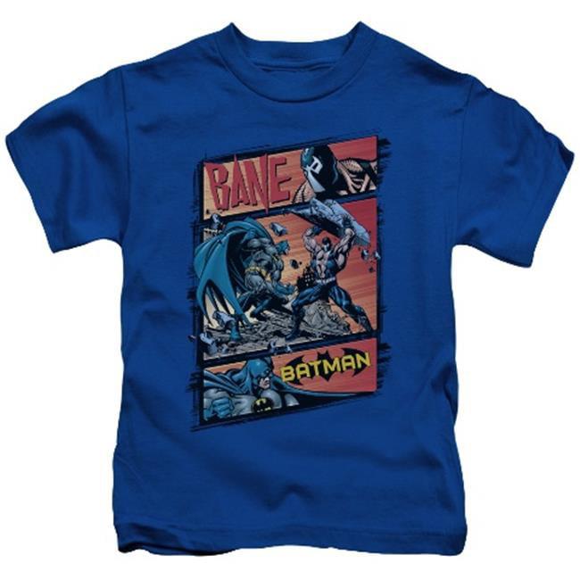 Batman-Epic Battle - Short Sleeve Juvenile 18-1 Tee - Royal, Large 7 - image 1 of 1
