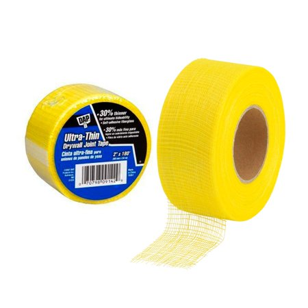 Drywall Joint Tape Paint Solid Self Adhesive Applies Directly Joints 2X180