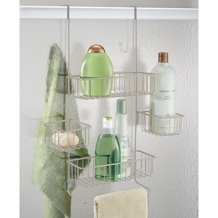 InterDesign Metalo Over The Door Shower Caddy