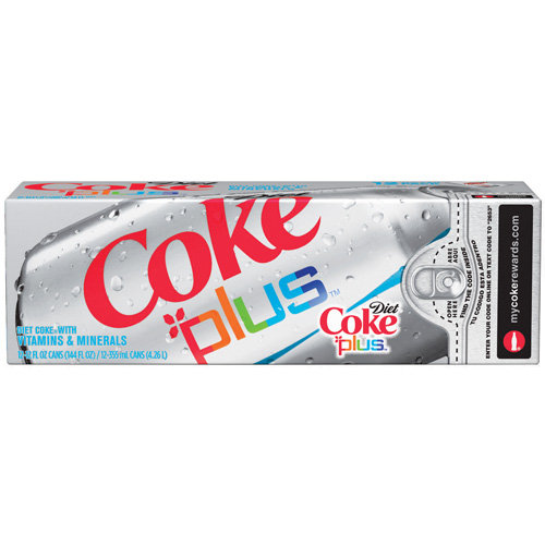 Diet Coke Plus Cola Fridge Pack, 12pk