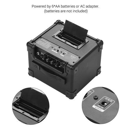 IDEEAUDIO AA-1 Portable Desktop Electric Guitar Speaker Amplifier Wireless BT 10 Watt Combo Amp Black Plug - image 2 of 7
