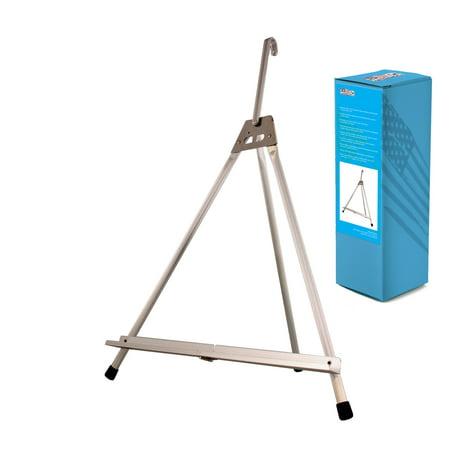 US Art Supply Table Top Aluminum Artist & Display Easel (Large - Single Arm)