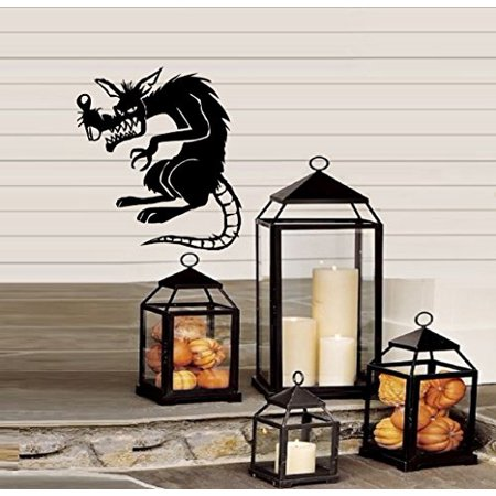 Decal ~ Rat Scary - Halloween ~ WALL or Window Decal 13