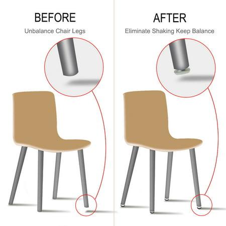 M8 x 25 x 30mm Leveling Feet Adjustable Leveler for Office Furniture Leg 24pcs - image 2 de 7