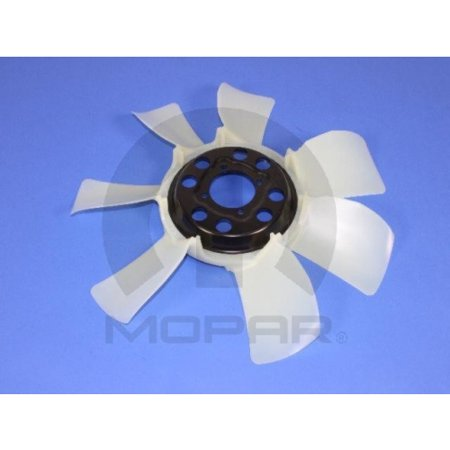 Nitro Engine Cooling - Mopar 55038108AA Engine Cooling Fan Dodge Nitro Jeep Liberty Commander Grand Cherokee