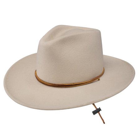 bc8aa8e377c Stetson Alton – Soft Wool Outback Hat - Walmart.com