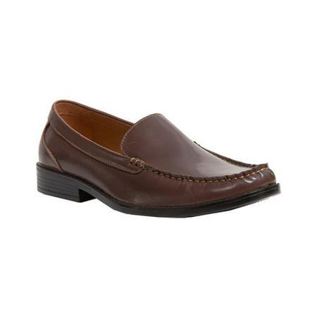 Men's Deer Stags Mentor Moc Toe - Brown Leather Moc Toe