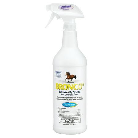 Equine Spray - Farnam Bronco Equine Fly Spray, 32 oz.