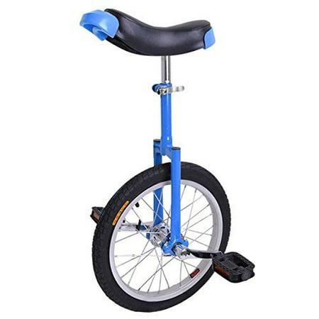 16 inch Wheel Unicycle Blue