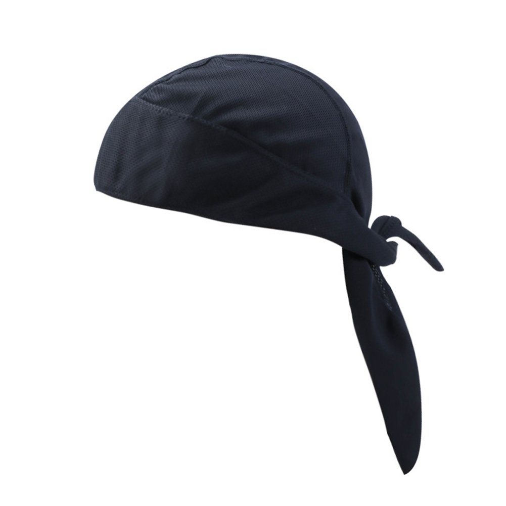 Head Tie Quick Drying Cycling Cap Headband Skull Beanie Bandanas Do Rags Breathable Moisture Wicking Pirate Hat Helmet Liner