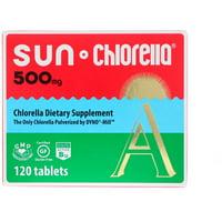 Sun Chlorella A, 500 mg, 120 Tablets