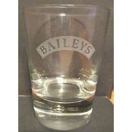Bubble in Base Irish Cream Whiskey Glass, Baileys whiskey glass By