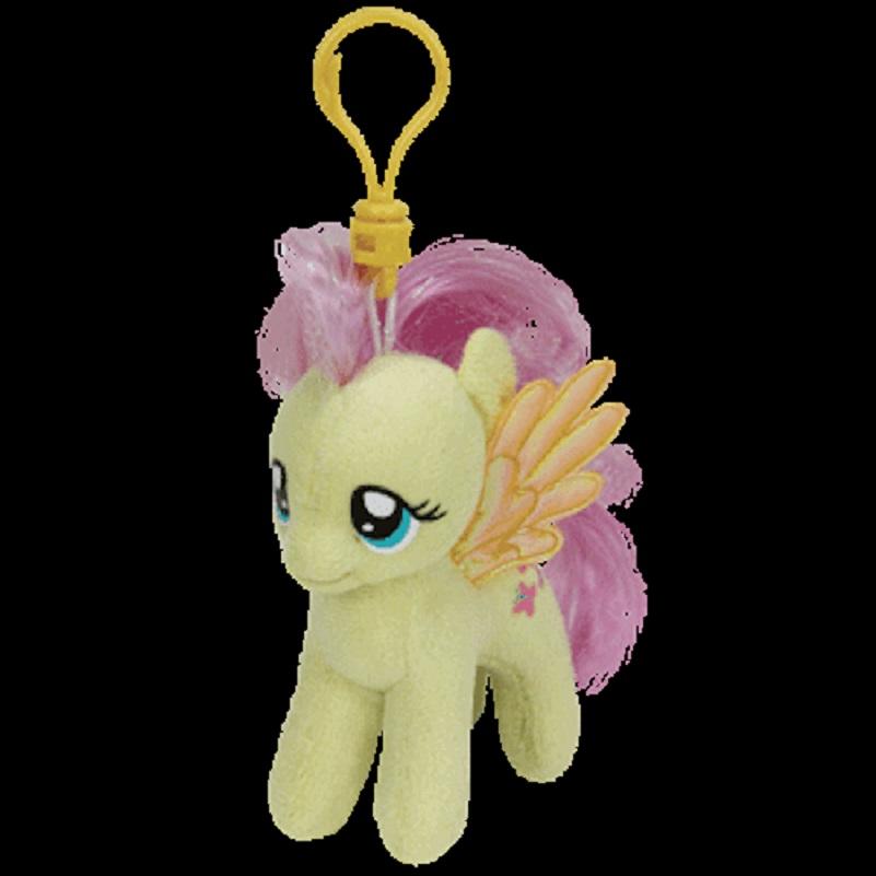 Ty Inc. - Beanie Boo - Bag Key Clip - My Little Pony - Fluttershy