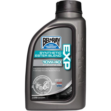 Bel-Ray 99131-B4LW EXP Synthetic Ester Blend 4T Engine Oil - 20W50 - (2000 Ford Ranger Engine 2-5 L 4 Cylinder)