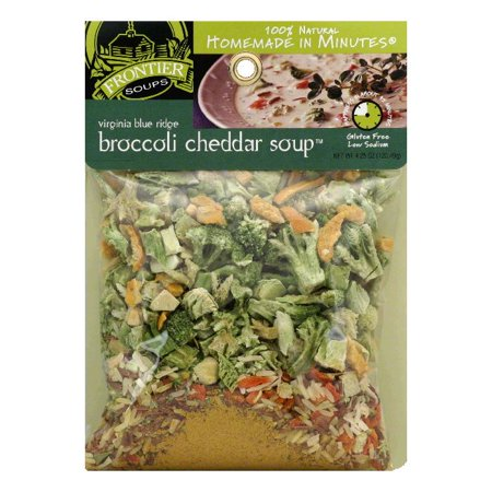 Frontier Soups Broccoli Cheddar  4 25 Oz  Pack Of 8