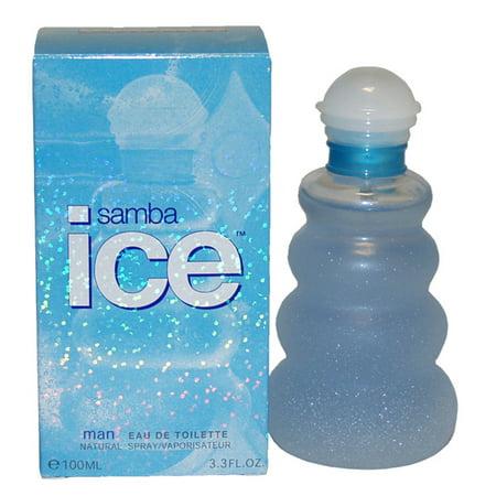 Samba Ice by Perfumers Workshop for Men - 3.4 oz EDT Spray - image 1 of 1