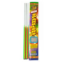 Party Neon Sparklers, 20in, 5ct