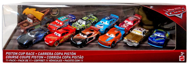 Disney Cars Cars 3 Piston Cup Race Diecast Vehicle 11-Pack by