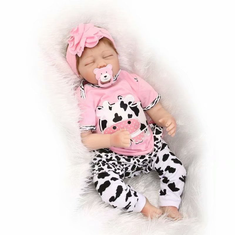 """Akoyovwerve Full Realistic Silicone Baby Dolls,22"""" Reborn ..."""