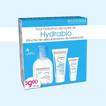 Bioderma Hydrabio Discovery Kit for Dehydrated or Sensitive Skin ($28 value)