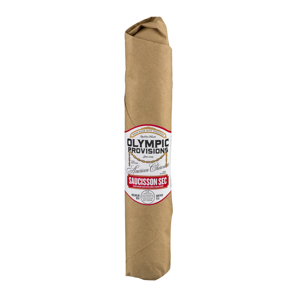 Olympic Provisions Saucisson Sec Dry Cured Salami, 1.0 CT by Olympic Provisions