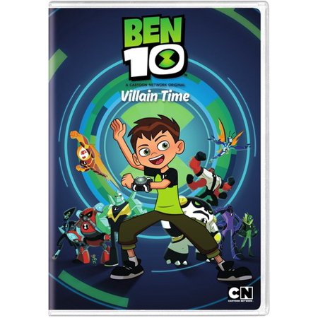 Ben 10: Villain Time - Season 1 (DVD) (100 Floors Seasons Halloween Level 10)