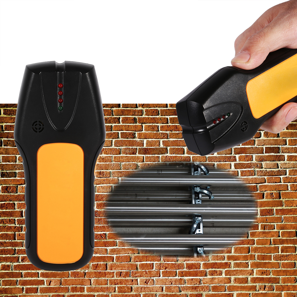 Dilwe 3in1 Multi Stud Scanner Wire Cable Wood Metal Wall Detector Finder Home Decoration,... by