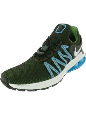 Nike Shox Gravity Running Shoe - 8M - White / Fusion Violet - White