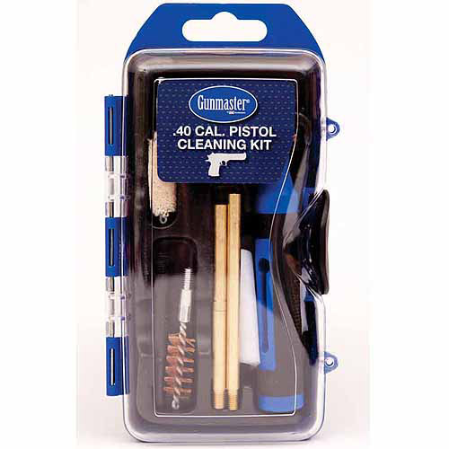 DAC Technologies GunMaster 40 Caliber/10mm 14-Piece Pistol Cleaning Kit