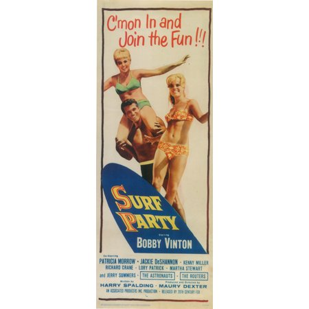 Surf Party Movie (Surf Party POSTER Movie Insert A)