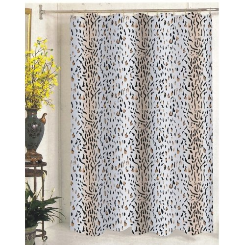Carnation Extra-Long Shower Curtain - Hailey