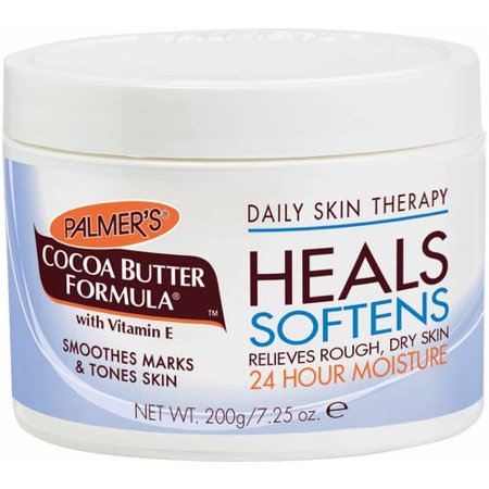 Palmer's Cocoa Butter Formula Daily Skin Therapy 24 Hour Moisture Original Solid, 7.25 oz Dry Skin Spa Formula