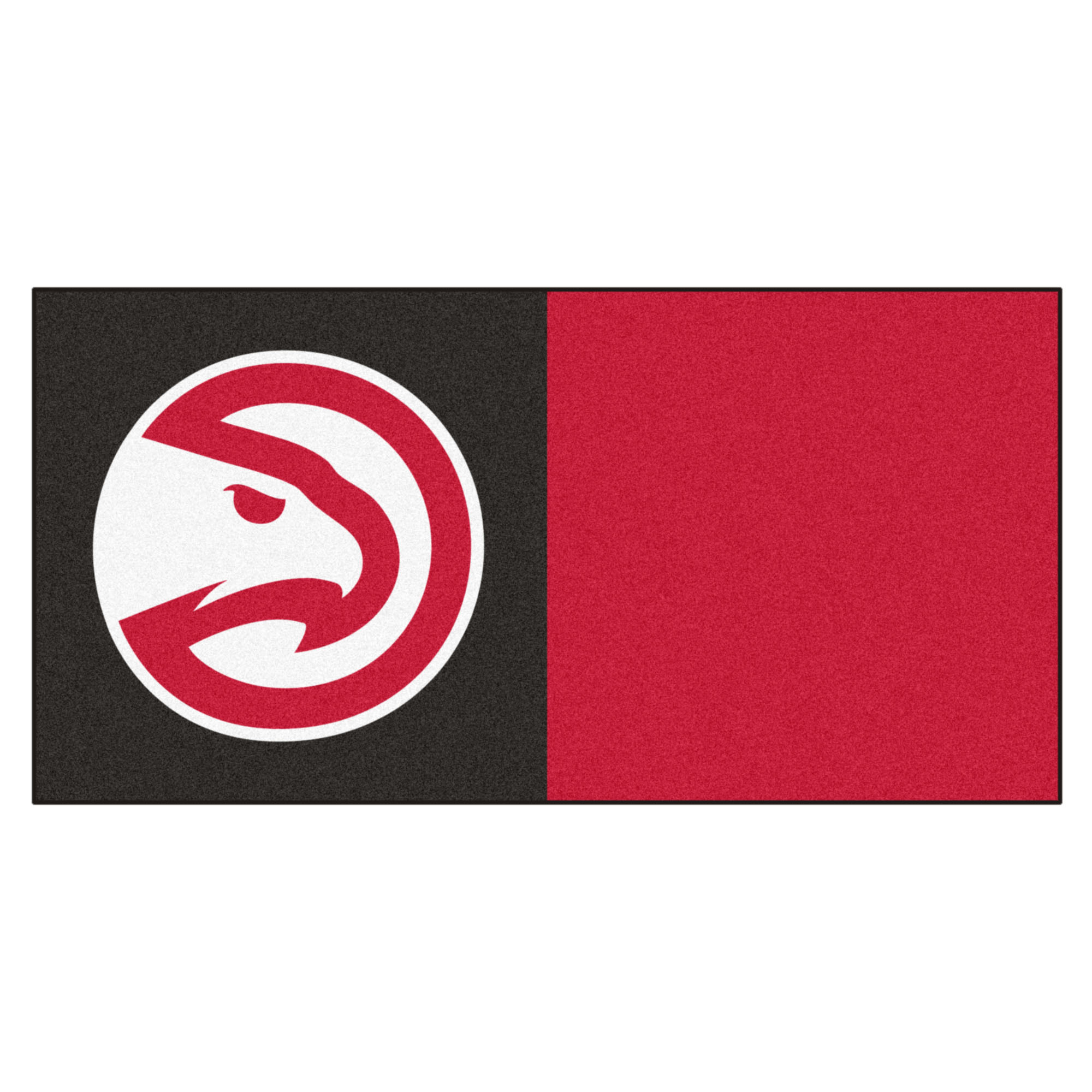 NBA Atlanta Hawks Team Carpet Tile Flooring Squares, 20-PC Set