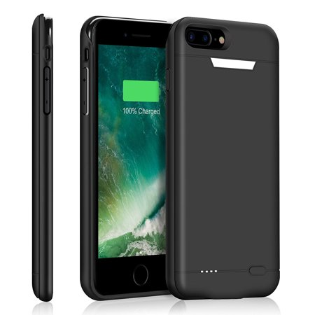 best service 77b15 a6748 iPhone 7 Plus Battery Case, 4200mAh Portable Charging Case for Apple iPhone  7 (5.5 inch) Extended Battery Juice Pack with Built-in Magnetic | iPhone 7  ...