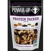 Power Up Protein Packed Trail Mix from Gourmet Nut, 14 oz. Resealable Bag, Gluten Free, Good Source of Protein