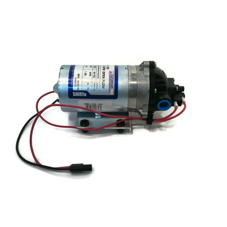 Shurflo Water Pump - New SHURflo 12v Electric WATER TRANSFER PUMP w/ WIRING HARNESS 1.8 gpm 60 PSI by The ROP Shop