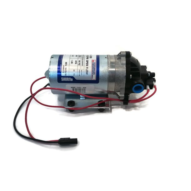 new shurflo 12v volt demand water pump w/ wiring harness camper rv ...  walmart.com