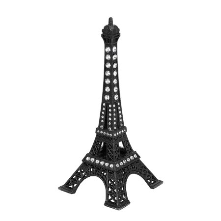 Rhinestone Decor  France Paris Eiffel Tower Sculpture Statue Model Ornament 5
