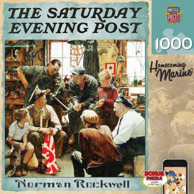 The Saturday Evening Post, Homecoming Marine](Saturday Evening Post Halloween)