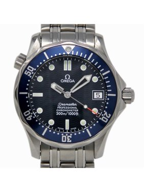 Pre-Owned Omega Seamaster 2551.80. Steel  Watch (Certified Authentic & Warranty)