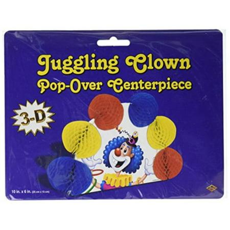 Juggling Clown Pop-Over Centerpiece (Pack of - Juggling Supplies