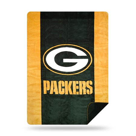 Green Bay Packers The Northwest Company 60'' x 72'' Denali Silver Knit Throw - No Size